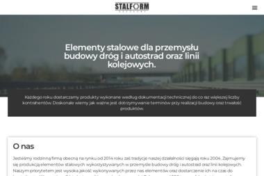 STALFORM Szymon Szczucki - Schody metalowe Zbiersk