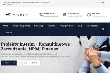 ANACCO Sebastian Trzaska - Kursy Doskonalenia Zawodowego Kraków