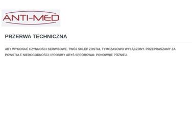 Marcin Rusek ANTI-MED - Sklepy Online Kalisz