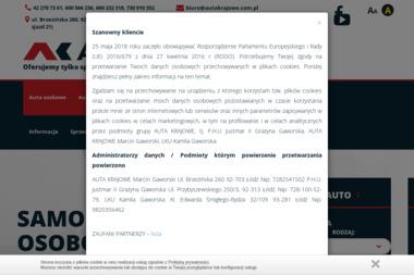 Auta Krajowe Marcin Gaworski - Samochody osobowe używane Łódź