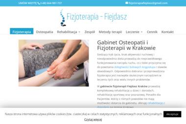 Fizjoterapia Fiejdasz - Fizjoterapeuta Kraków