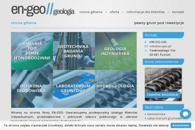 EN-GEO TOMASZ ŻMUDZIŃSKI - Sklepy Internetowe Poznań