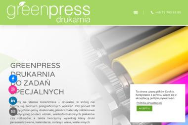 Green Press Sp z o.o. - Gadżety z nadrukiem Wrocław