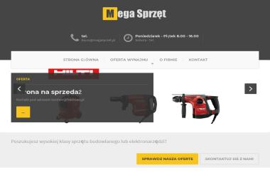 Megasprzęt.pl - Wypożyczalnia Sprzętu Budowlanego Wrocław
