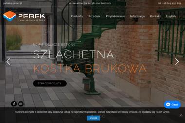 Pebek Sp. z o.o. - Płyty Drogowe Betonowe Świdnica