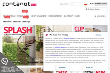 Fontanot Shop Polska - Balustrady Bielsk