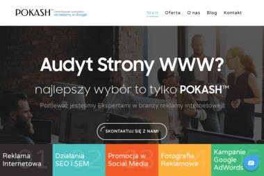 POKASH.PL Emilia Średzińska - Logo Firmy Wrocław