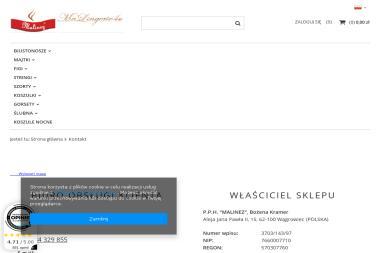 P.P.H Malinez - Firmy odzieżowe Wągrowiec