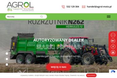 """PPHU """"Agrol"""" Karolina Piotrowska - Maszyny rolnicze Radzanów"""