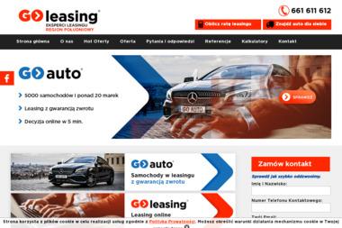 Go-Leasing oddzia艂 II w Katowicach - Oferta Leasingu Niepo艂omice