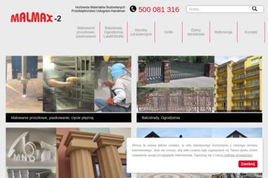 Malmax 2 Zdzisław Majcherek Małgorzata Majcherek s.c. - Firma Spawalnicza Szczerców