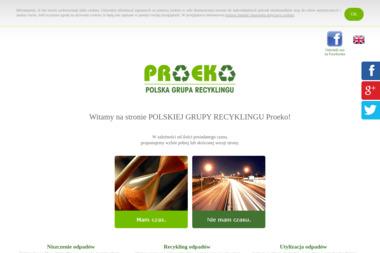 Polska Grupa Recyklingu PROEKO - Przetwarzanie odpadów Legionowo