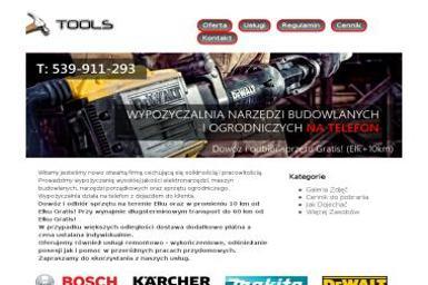 Tools Wypożyczalnia narzędzi - Wypożyczalnia sprzętu budowlanego Ełk