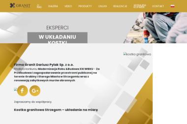 Granit Dariusz Pylak sp. z o.o. Zagranica - Gruz Strzegom