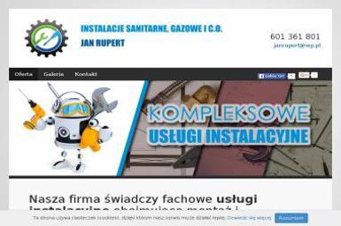 Rupert Jan Hydraulik, Instalacje sanitarne, gazowe i c.o. - Dla budownictwa Warszawa