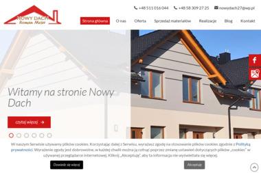 Firma Remontowo Budowlana Nowy Dach Roman Mejer - Konstrukcja Dachu Nowa Karczma
