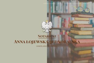 Notariusz Anna Łojewska- Jednoralska Kancelaria Notarialna - Kancelaria prawna Wejherowo