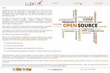 """""""bs247"""" Kazimierz Izdebski - Tworzenie Serwisów Internetowych Krzesk-Królowa Nida"""