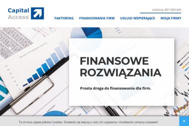 Capital Access - Faktoring Ostrowiec Świętokrzyski