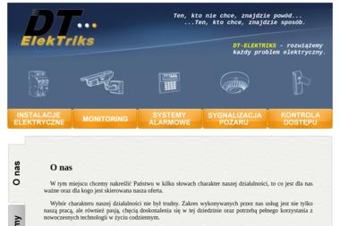 DT-ELEKTRIKS - Alarmy Brudzew