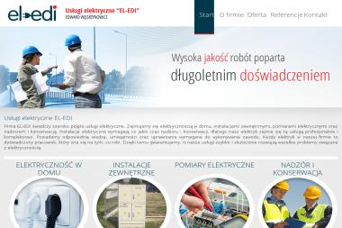 Usługi Elektryczne EL-EDI Edward Węgrzynowicz - Montaż oświetlenia Mrągowo