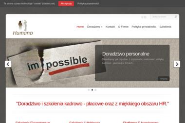 Humano Agnieszka Łapińska - Firma Doradztwa Personalnego Toruń