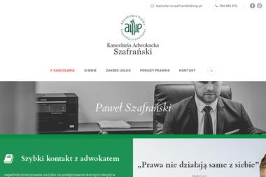 Kancelaria Adwokacka Adwokat Szafrański - Adwokat Włocławek