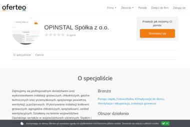 OPINSTAL Spółka z o.o. - Klimatyzacja Opole