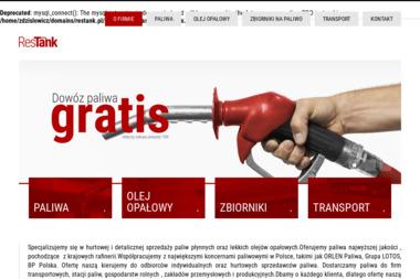 RESTANK - Olej opałowy Kraczkowa