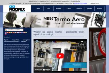 ROOFEX High Technology Windows - Bramy Garażowe Uchylne Przecław