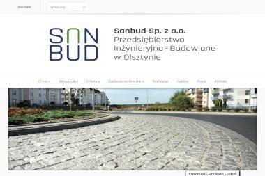 PIB SANBUD Sp. z o.o. - Budowa autostrad Olsztyn