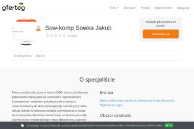 Sow-komp Sowka Jakub - Płyta karton gips Czarnków