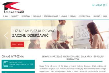 AC Telekontrakt PHU Witold Ratkowski, Grażyna Ratkowska Sp.J. - Kserokopiarki A3 do A0 używane Poznań