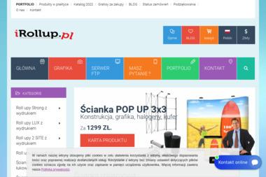 IRollup - Drukarnia rollup - Sklep internetowy Dzierżoniów