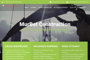 Murbet Construction - Kamieniarz Czudec