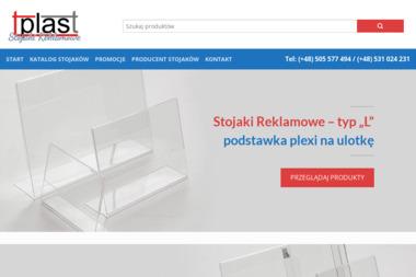 TPLAST - Stojaki Reklamowe - Materiały reklamowe Kraków