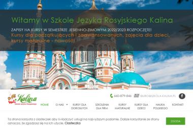 Szkoła Języka Rosyjskiego KALINA - Szkoła językowa Łódź