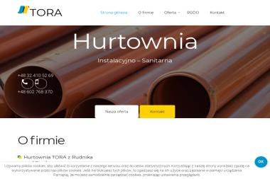 """P.H.U.""""TORA"""" S.C. - Wykonanie Instalacji Gazowej Rudnik"""