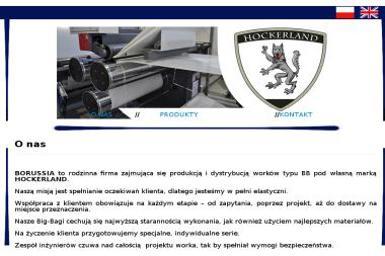 """""""Borussia"""" Sławomir Nieciecki - Agencja interaktywna Olsztynek"""