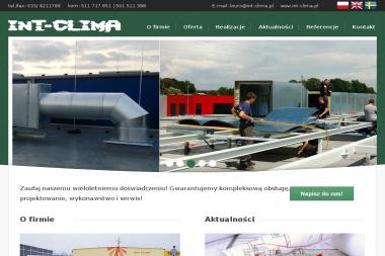 INT-CLIMA Sp. z o.o. - Instalacje grzewcze Bielsko-Biała