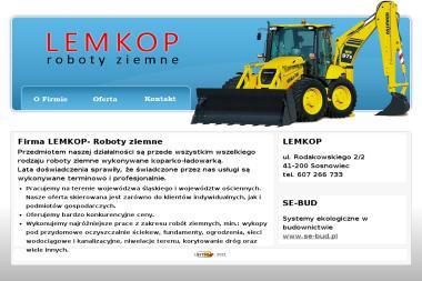 MAGDALENA SPUTO LEMKOP - Sprzedaż Maszyn Budowlanych Sosnowiec