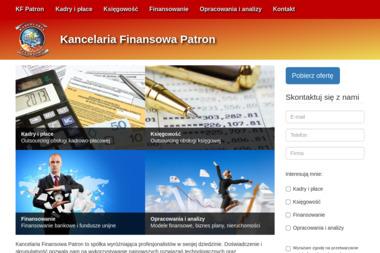 """KANCELARIA FINANSOWA """"PATRON"""" SP. Z O.O. - Kosztorysy, ekspertyzy Malbork"""