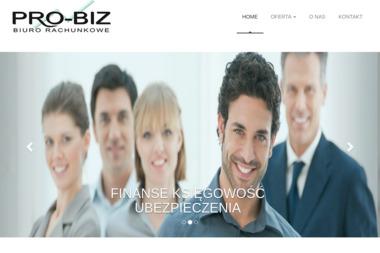 Biuro rachunkowe PRO-BIZ Maciej Józefiak - Biznes Plan Chełmiec
