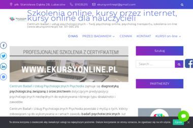 Psychodia centrum badań i usług psychologicznych Diana Puchalska - Firma Logistyczna Lubaczów