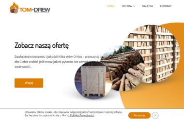 Tom-Drew producent wyrobów stolarskich ciesielskich - Zabudowa Balkonu w Bloku Bystra