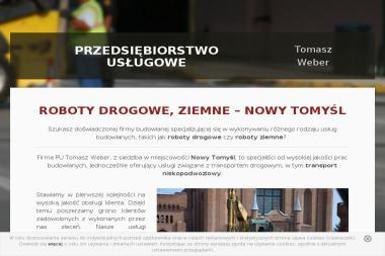 Przedsiębiorstwo Usługowe Tomasz Weber - Transport międzynarodowy Nowy Tomyśl