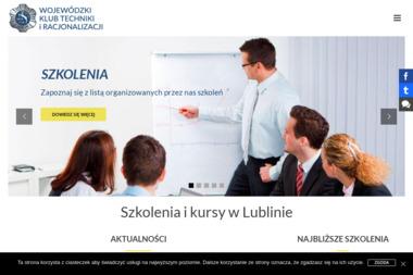 Wojewódzki Klub Techniki i Racjonalizacji - Badania i rozwój, analizy Lublin