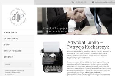 Adwokat Patrycja Kucharczyk Kancelaria Adwokacka - Radca prawny Lublin