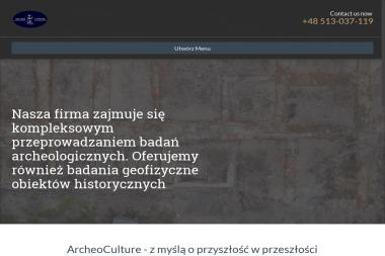 Archeo Culture - Usługi archeologiczne Daniel Skoczylas - Badanie Geologiczne Piastów