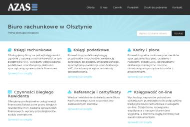 Biuro Rachunkowe AZAS Sp. z o.o. - Biznes Plan Sklepu Internetowego Olsztyn